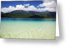 Oahu, Kaneohe Bay Greeting Card