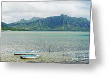 Oahu, Kaneohe Bay Greeting Card