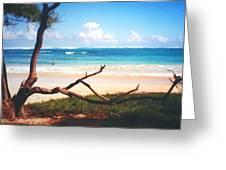 Oahu North Shore Greeting Card
