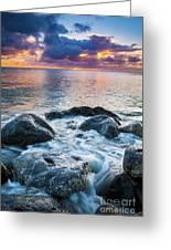 Oahu Shoreline Greeting Card