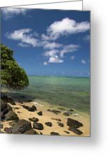 Oahu's East Coast 5 Greeting Card