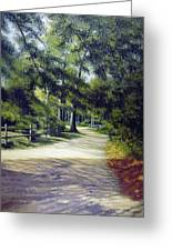 Oak Court, East Marion Greeting Card