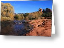 Oak Creek Autumn Greeting Card by Gary Kaylor