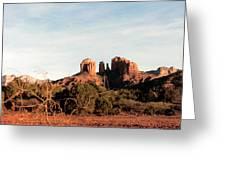 Oak Creek Canyon Greeting Card