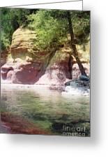 Oak Creek Sedona Greeting Card