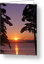 Oak Harbor Sunrise II Sr 2002 Greeting Card
