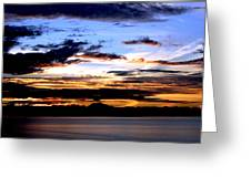 Oak Harbor Sunrise Sr 1002 Greeting Card