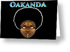 Oakanda  Greeting Card