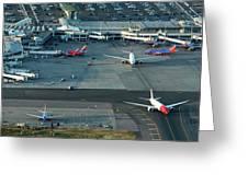 Oakland International Airport Greeting Card