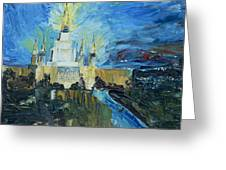 Oakland Temple Greeting Card