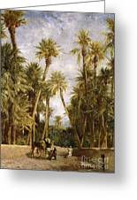 Oasis At Lagrount  Greeting Card