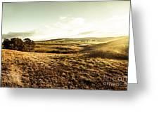 Oatlands Rolling Hills Greeting Card
