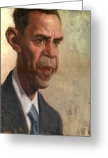 Obama Greeting Card by Court Jones