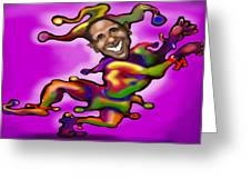 Obama Jester Greeting Card