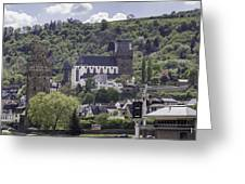 Oberwesel Old And New Greeting Card