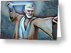 Obi Wan Kenobi Greeting Card