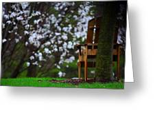 Observation Chair Greeting Card