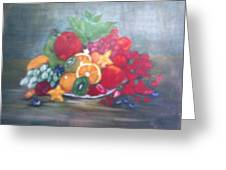 Obst Greeting Card