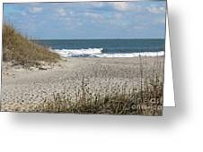 Obx Beach And Dunes Greeting Card