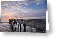 Obx Sunrise Greeting Card by Adam Romanowicz