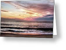 Obx Sunrise Greeting Card
