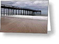 Ocean City Pier 3 Greeting Card