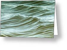 Ocean Abstract I Greeting Card