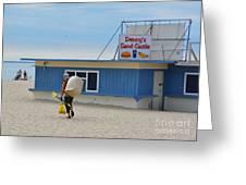 Ocean Beach In September Greeting Card