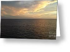 Ocean Blue 2 Greeting Card