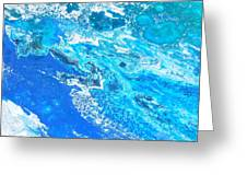 Ocean Blue -tac Greeting Card