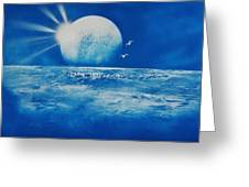 Ocean Blue Greeting Card