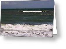 Ocean - Blue - Waves Greeting Card