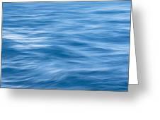 Ocean Blur Greeting Card