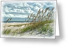 Ocean Breeze At Fort Fisher - Number One Greeting Card