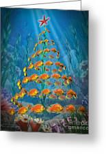 Ocean Christmas Greeting Card