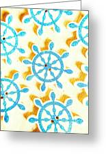 Ocean Circles Greeting Card
