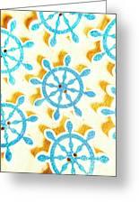 Ocean Circles Greeting Card