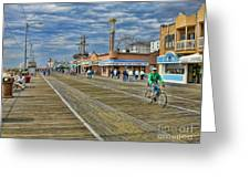 Ocean City Boardwalk Greeting Card