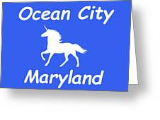 Ocean City Md Greeting Card