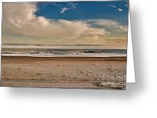 Ocean Clouds Greeting Card