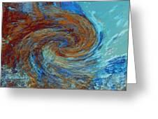 Ocean Colors Greeting Card