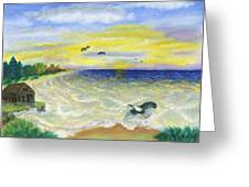 Ocean Delight Greeting Card