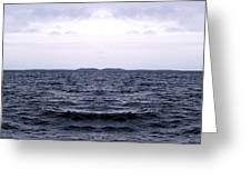 Ocean Double Greeting Card