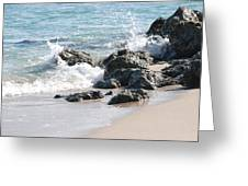 Ocean Drive Rocks Greeting Card
