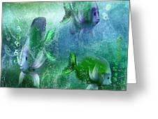 Ocean Fantasy 4 Greeting Card