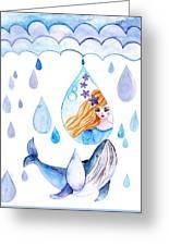 Ocean Girl Greeting Card