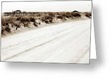Ocean Grove Beach Greeting Card
