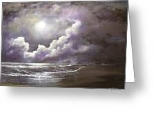 Ocean Grove Moon Greeting Card