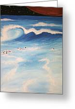 Ocean If Dreams  Greeting Card