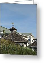 Ocean Isle Fish Weathervane Greeting Card